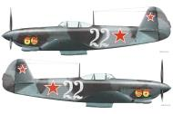 Asisbiz Yakovlev Yak 9D 6GvIAP VVS ChMF White 22 Mikhail Grib over Crimean peninsula 1944 0C