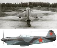 Asisbiz Yakovlev Yak 9D Unknown unit in NKAP spring 1943 grey grey camouflage scheme 0A