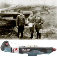 Asisbiz Yakovlev Yak 9L 168IAP 303IAD Red 4 slogan Moscow based East Prussia 1945 01