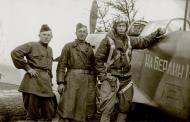 Asisbiz Yakovlev Yak 9M 157IAP 273IAD slogan to Berlin based in Belorussian Front 1944 01