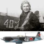Asisbiz Yakovlev Yak 9M 21IAP White 48 flown by ND Gray Oct 1944 0A