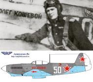Asisbiz Yakovlev Yak 9M 21IAP White 50 slogan Oleg Koshevoy flown by Major DA Kudymov late 1944 0A