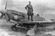 Asisbiz Yakovlev Yak 9M 513IAP 331IAD White 40 with Nikolai Ivanovich Dynich Ukrainian front 1945 02