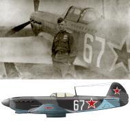 Asisbiz Yakovlev Yak 9M 728IAP 256IAD Silver 67 with ace Lt Andrey Ignatievich Kachkovsky Poland 1944 02