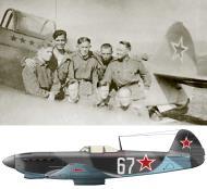 Asisbiz Yakovlev Yak 9M 728IAP 256IAD Silver 67 with ace Lt Andrey Ignatievich Kachkovsky Poland 1944 03