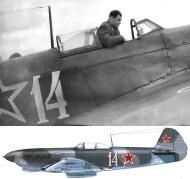 Asisbiz Yakovlev Yak 9M 777IAP 96SHAD Silver 14 with Maj FN Cheremukhin Far Eastern Front 1945 01