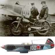 Asisbiz Yakovlev Yak 9T 117GvIAP 236IAD White 100 with Gennady A Shadrin Ukrainian front 1944 0C