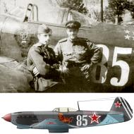 Asisbiz Yakovlev Yak 9T 66GvIAD White 85 with Maj Ivan I Vetrov Baltic Front 1944 0A