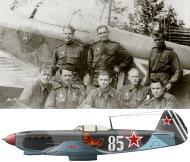 Asisbiz Yakovlev Yak 9T 66GvIAD White 85 with Maj Ivan I Vetrov Baltic Front 1944 0B
