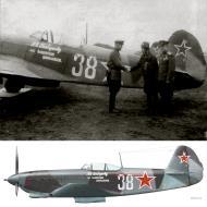 Asisbiz Yakovlev Yak 9T 728IAP White 38 flown by AI Vybornov Poland 2nd Sep 1944 0A