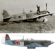 Asisbiz Yakovlev Yak 9T 845IAP 269IAD White 28 Lt Bitsaev Sergey Vladimirovich 1945 01