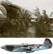 Asisbiz Yakovlev Yak 9U 139GvIAP 303IAD Silver 20 Belorussian Front 1945 0B