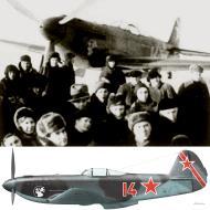 Asisbiz Yakovlev Yak 9U 29GvIAP 324IAD Red 14 based in Moscow 22 Feb 1945 0A