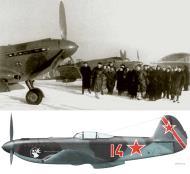 Asisbiz Yakovlev Yak 9U 29GvIAP 324IAD Red 14 based in Moscow 22 Feb 1945 0B