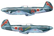Asisbiz Yakovlev Yak 9U 29GvIAP 324IAD Red 14 based in Moscow 22 Feb 1945 0C