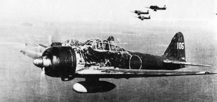 Aircrew Japanese pilot Hiroyoshi Nishizawa A6M3 22 over Solomon Islands 1943