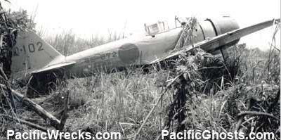 Mitsubishi A6M3 Zero JNAF 2nd NAG Q 102 HK 872 Kazuo Tsunoda Buna Papua New Guinea 1942