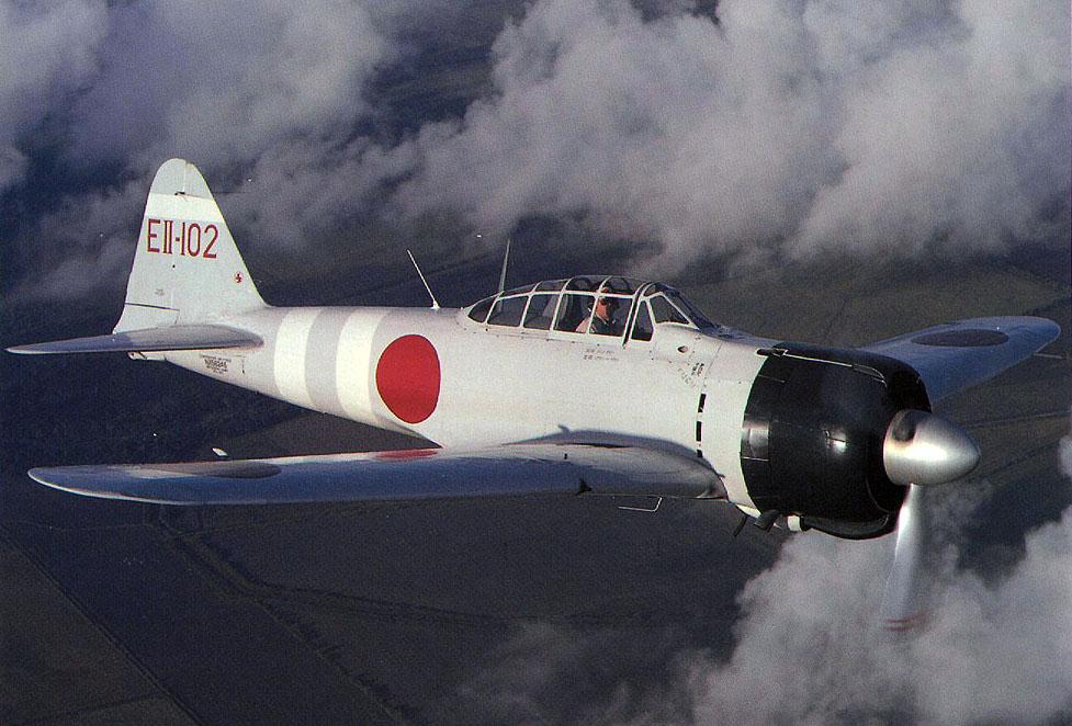 Mitsubishi A6M2 21 Zero JNAF 332Kokutai EII 102 Tetsuzo Iwamoto IJN Zuikaku restored warbird 02