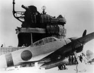 Asisbiz Mitsubishi A6M2 21 Zero fighter aboard the Imperial Japanese Navy carrier Akagi during Pearl Harbor 01