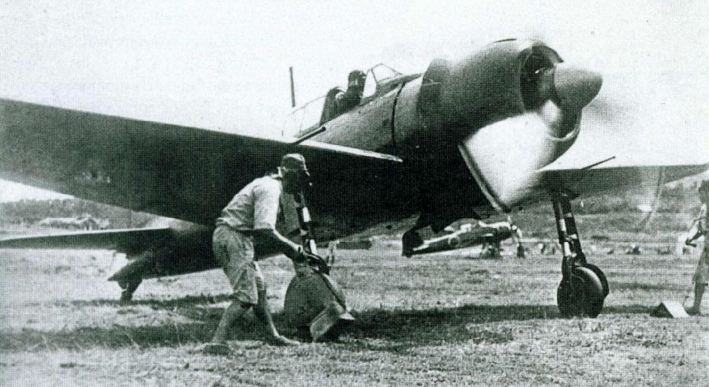 Mitsubishi A6M3 22 Zero JNAF 582Kokutai Buna 1943 01