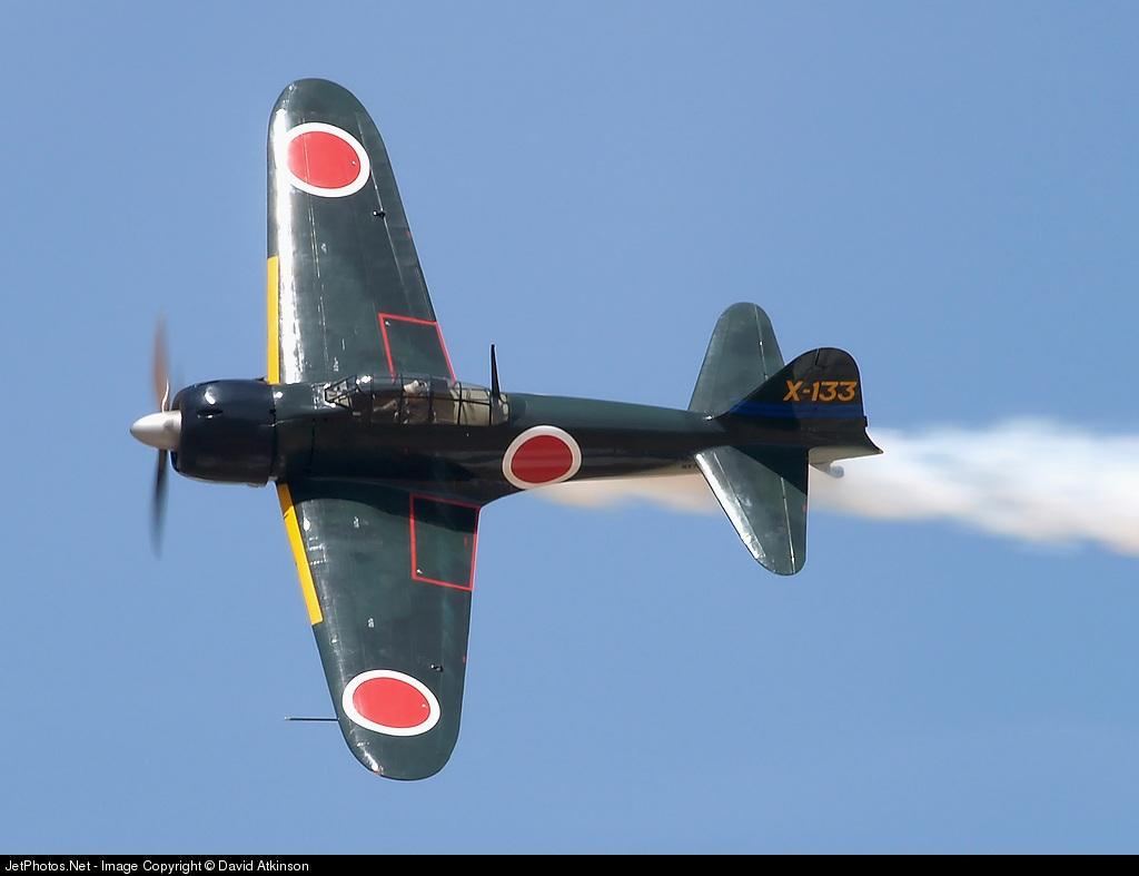 Mitsubishi A6M3 Zero JNAF X 133 warbird FAA NX712Z 02