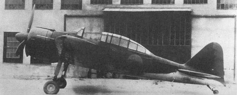 Mitsubishi A6M3 Zero JNAF trainer 01
