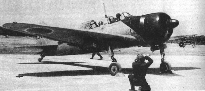 Mitsubishi A6M3 Zero JNAF trainer 02