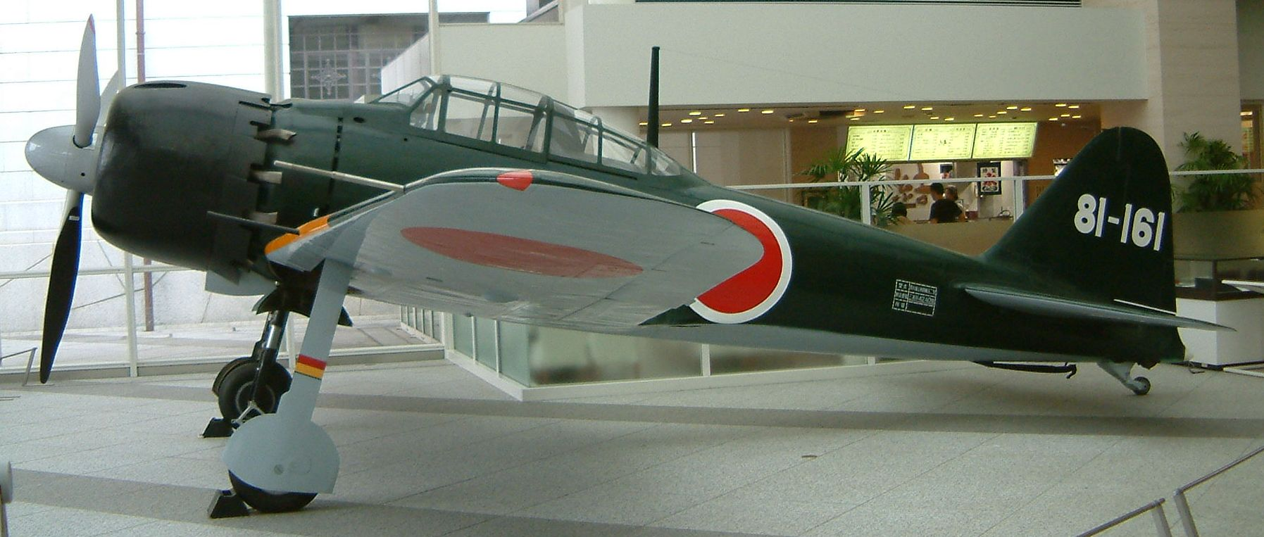 Mitsubishi A6M5 Zero JNAF 381st Kokutai 81 161 preserved 01