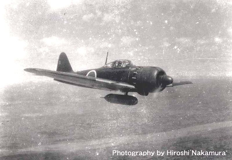Mitsubishi Zero wartime photographs by Hiroshi Nakamura 01