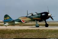 Asisbiz Mitsubishi A6M3 Zero JNAF X 133 warbird FAA NX712Z 01