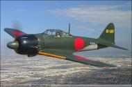 Asisbiz Mitsubishi A6M5 Zero JNAF 61 120 Planes of Fame collection Air Museum Chino Airport CA 01