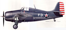 Grumman F4F Wildcat history and specifications