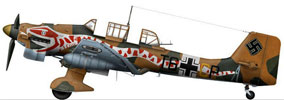 Junker Ju 87B-2 Trop Stuka