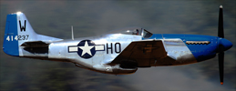 North-American P-51D Mustang history and specifications