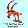 6./JG26 Steinbock antelope Emblem