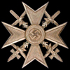 medal Spanish Cross in Bronze with Swords