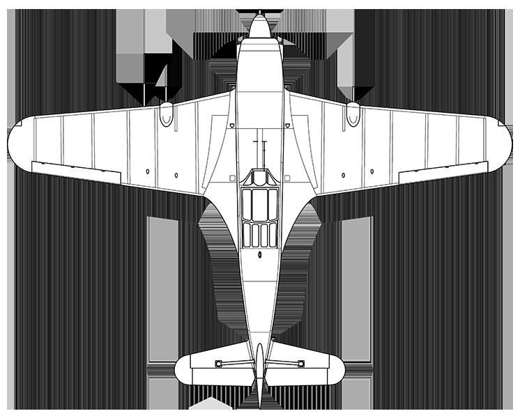 Morane-Saulnier M.S.406 C1 top profile