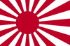 Japanese Naval Ensign flag