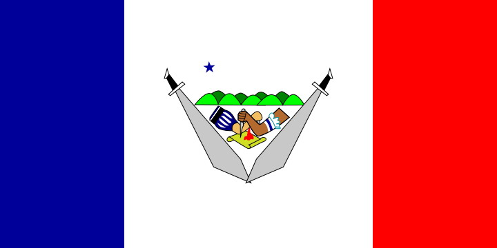 Flag of Bohol Province Philippines