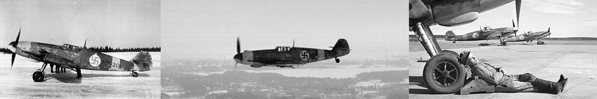 Finnish Air Force Messerschmitt Bf 109G Gustav's List