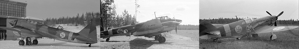 Soviet Airforce Captured aircraft models