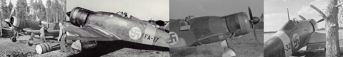 Finnish Air Force Fiat G.50's List