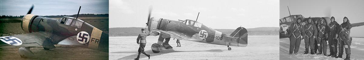 Finnish Air Force Fokker D-XXI List