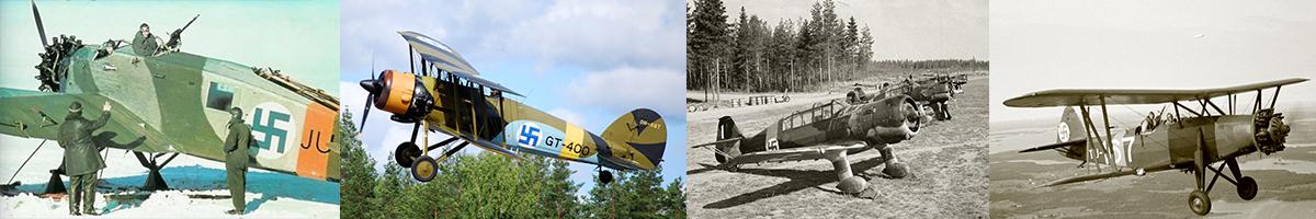 Finnish Air Force Mixed aircraft models