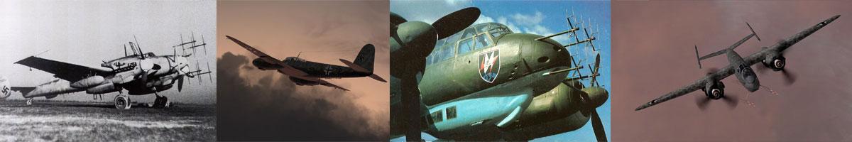 Luftwaffe Nachtjagers Units