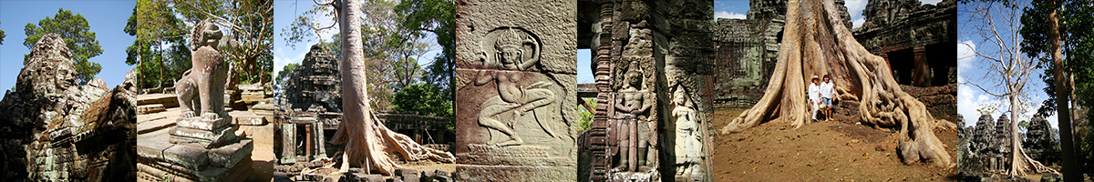 Header Banteay Kdei Temple
