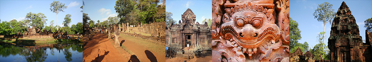 Header Banteay Srei Temple