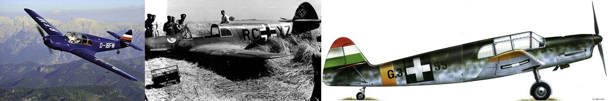 Messerschmitt Bf 108 Taifun List