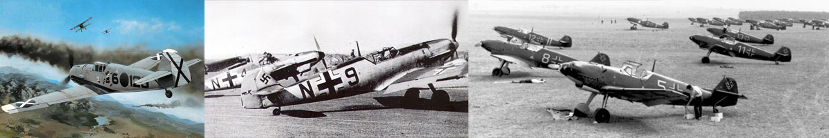 Bf-109D IL2 aircraft list