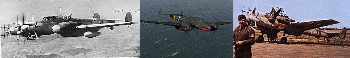 Messerschmitt Bf 110 List